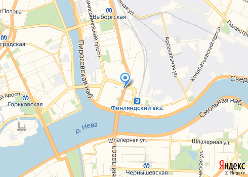 Военно-медицинская Академия им. С.М. Кирова, Стоматологическая поликлиника - на карте
