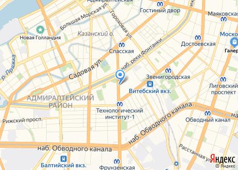 Клиника «СМТ» на Московском, стоматологическое отделение - на карте